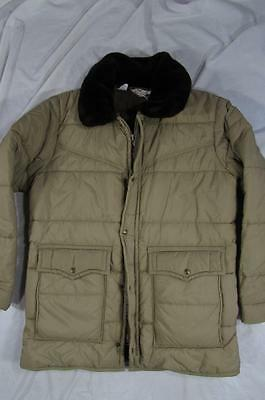 Vtg 70s Walls Blizzard Pruf Insulated Winter Jacket Sz Large Tall USA Made Coat