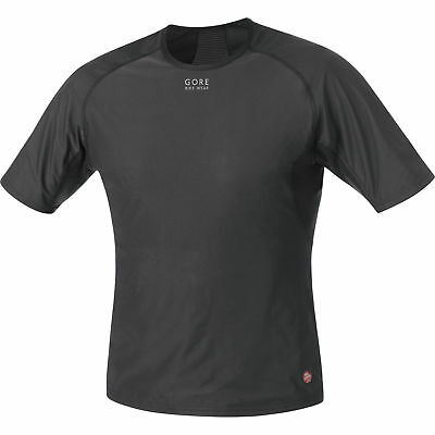 Gore Bike Wear BASE LAYER WINDSTOPPER® Shirt Black 2017 X-Large
