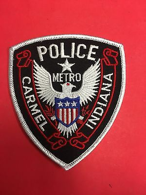 Carmel Indiana Police  Shoulder Patch