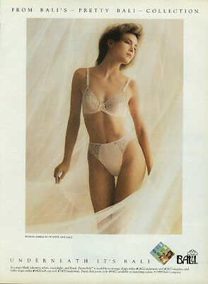 From bali's Pretty Bali Collection Bra & Panties ad 1988