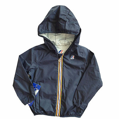 K-WAY Ventina Bambino K000F80 Depht Blue Giubbotto Primavera/Estate