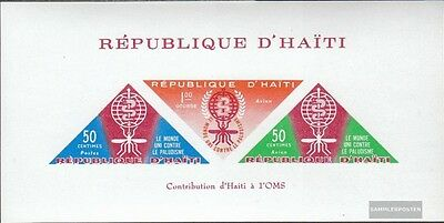 Haiti Block23I (complete issue) unmounted mint / never hinged 1962 Fight against