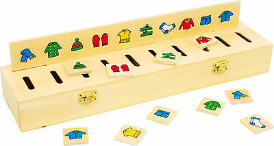 Billet Sorting box Wood Motor skill Educational game schools mapping Shapes