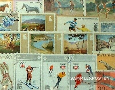 Albania 50 different stamps