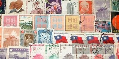 China-taiwan 50 different stamps