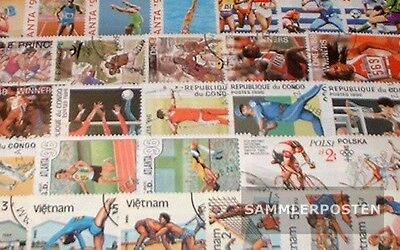 Thematics 150 different Summer Olympics stamps