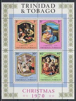 Trinidad & Tobago 1970 ** Bl.1 Gemälde Paintings Veronese Tizian [sq5018]