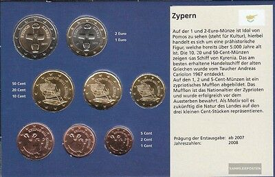 Cyprus Article: 2011 Kursmünzensatz brillant uncirculated (BU) 2011 Euro-reprint