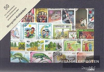 Mongolia 50 different stamps