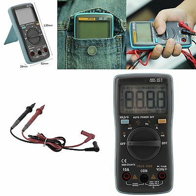 True BSIDE RMS ZT101 Multimeter Backlight Ac/Dc Ammeter Voltmeter Ohm Meter XRAU