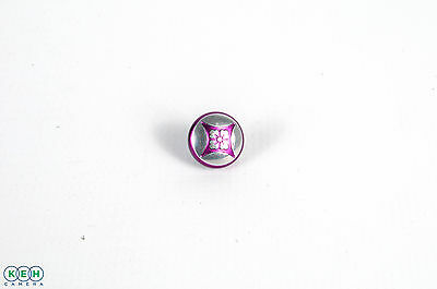 Lensmate Purple Flower Soft Release Button