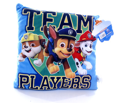 New Official Childrens Team Players Paw Patrol Cushion Pillow