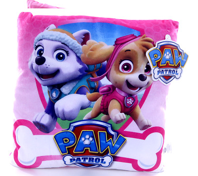 New Official Childrens Pink Skye Everest Paw Patrol Cushion Pillow