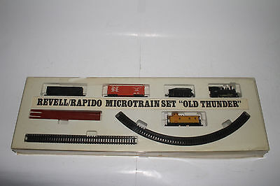 "Revell/rapido N Gauge Microtrain Set ""old Thunder"" Union Pacific Locomotive"