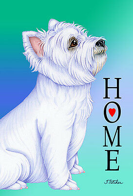 Large Indoor/Outdoor Home (TP) Flag - West Highland White Terrier Westie 62023