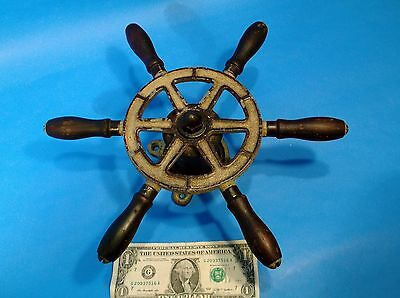 "Vintage Yacht, Sailboat or small boat Ship Wheel 12"" PERKO?? #459"