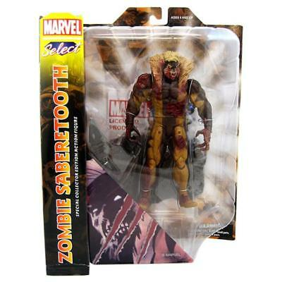 Marvel Select Zombie Sabertooth Special Collector Action Figure Toy