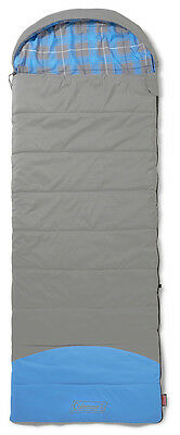 Coleman Basalt Single Oversized Sleeping Bag Single Envelope Camping Caravan