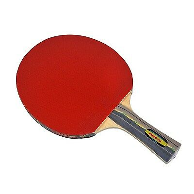 "Gamesson 7-Stars ""Kung Fu"" Table Tennis Racket - Multi-Colour"