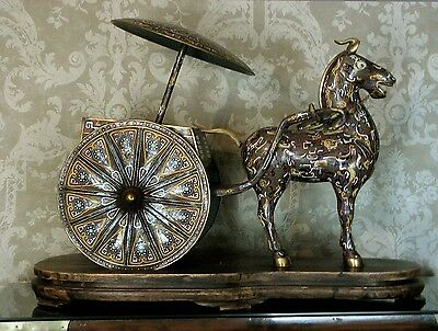 """Chinese Cloisonne Imperial Cart      26 """"            Reduced    $5400  -  $4200"""