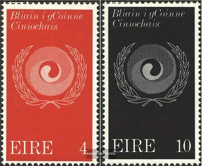 Ireland 270-271 (complete issue) unmounted mint / never hinged 1971 against Raci
