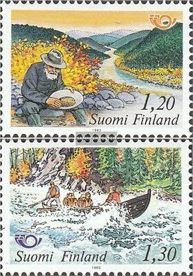 Finland 922-923 (complete issue) unmounted mint / never hinged 1983 Tourism in S
