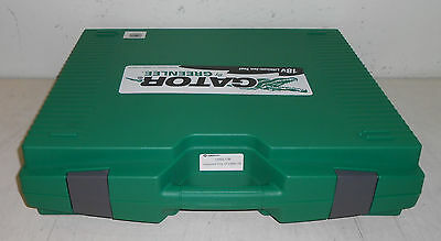 New Open Box Greenlee Stainless Steel LS50L11B Hydraulic Knockout Set
