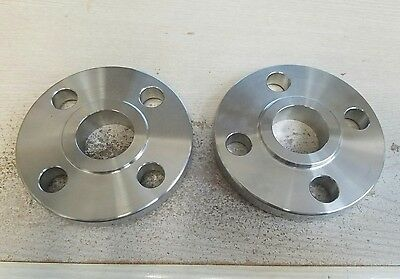 """1"""" Tube-Line 150# Stainless Steel Pipe Flange (Set of 2)"""