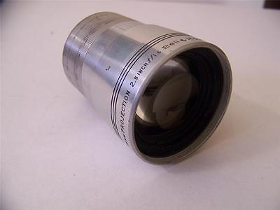 Bell & Howell 2.5 Inch F1.6 Projector Lens 16Mm