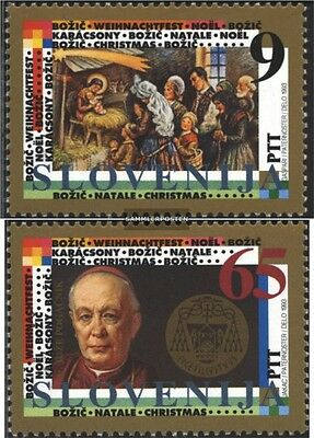 slovenia 69-70 (complete issue) unmounted mint / never hinged 1993 christmas
