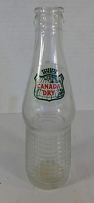 Vintage Canada Dry Ginger Ale 7 Ounce Bottle
