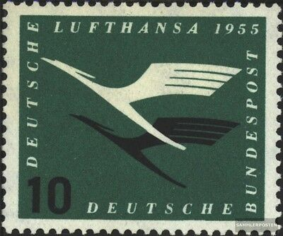 FRD (FR.Germany) 206 unmounted mint / never hinged 1955 flying start the German