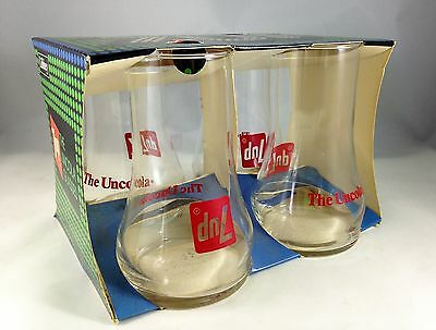 Vintage 4-pack 7UP The Uncola Tumbles - Libbey - MINT in pack - never used 7 UP