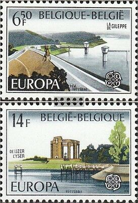 Belgium 1905-1906 (complete issue) unmounted mint / never hinged 1977 Landscapes