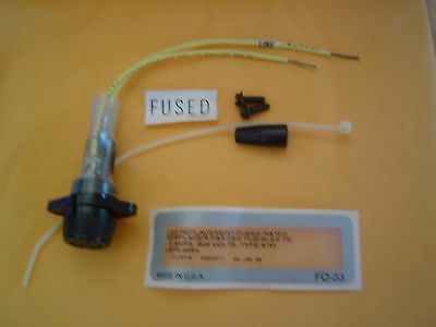 LBF3-4984 5A 600V Type KTQ Replacement Fuse Kit - NOS