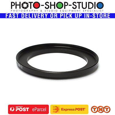 Fotolux Step Up Ring 58-72mm High Quality Anodized Black Aluminum (Metal)