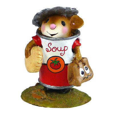 SOUPER MAN by Wee Forest Folk, WFF# M-536 - Halloween Mouse 2015