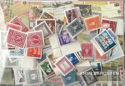Croatia 75 different stamps