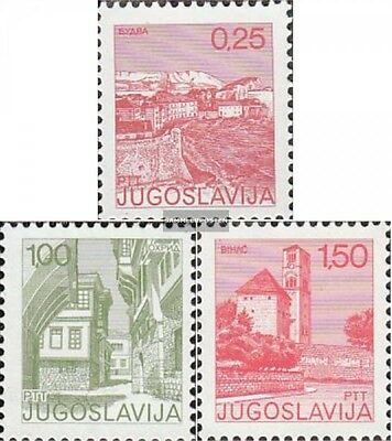 Yugoslavia 1660-1662 (complete issue) unmounted mint / never hinged 1976 clear b