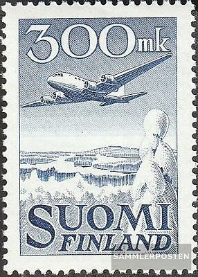 Finland 384 (complete issue) used 1950 Postage stamp: Aircraft