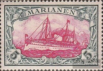 Marianas (German. Colony) 19 tested fine used / cancelled 1901 Ship Imperial Yac
