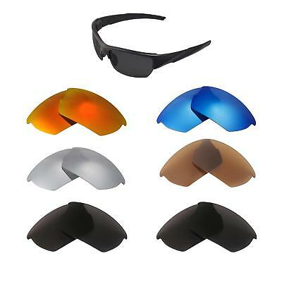 Walleva Replacement Lenses for Wiley X Valor Sunglasses - Multiple Options