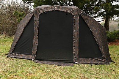 "Fox NEW 60"" Camo Supa Brolly MK2 Overwrap Winter Skin - CUM211"
