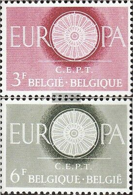 Belgium 1209-1210 (complete issue) unmounted mint / never hinged 1960 Europe