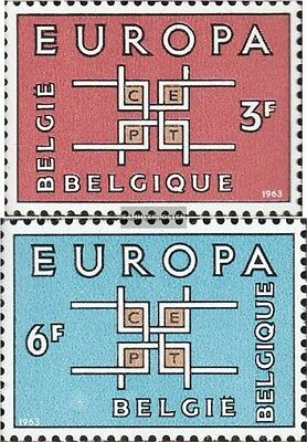 Belgium 1320-1321 (complete issue) unmounted mint / never hinged 1963 Europe