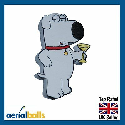 Family Guy Brian Aerial Ball Antenna Topper