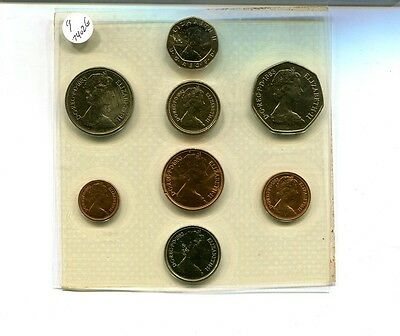 Great Britain 1983 8 Coin Uncirculated Set