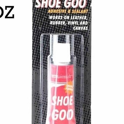 1oz Shoe Goo Adhesive Repair Glue Leather Rubber Vinyl 1 oz