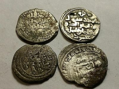 Medieval Islamic/ Indian coins - Lot of 4