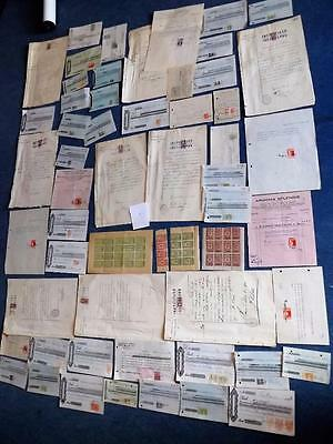 Argentina-Large Lot-Revenue Docs With Stamps-Great Range+Other Rev Stamps-Etc-1